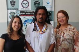 VisitaEmbaixador 270x177 - MEC escolhe penitenciária feminina da Paraíba para implantar programa contra discriminação