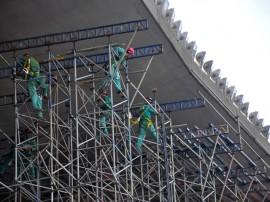 almeidao obras foto francisc o frança 1461 270x202 - Governo do Estado inspeciona obras do Centro de Convenções e Almeidão