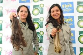 fios 3 270x179 - Mulheres da PM doam cabelos para campanha 'Fios de Alegria'