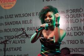 sandra belê 2 270x180 - Paraibanos se destacam na primeira noite da Virada Cultural em São Paulo