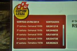 Foto dos sorteio do Cupom legal em Campina Grande 270x179 - Cupom Legal realiza último sorteio de junho e divulga ganhador do prêmio temático de São João