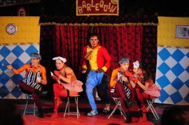 funesc leva a zabele espetaculo circense circo arlequim 1 270x179 - Teatro da Paraíba em Movimento leva espetáculo circense a Zabelê