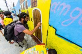 oficina de graffiti2 foto thercles silva 270x180 - Dança, música e cultura popular encerram Semana José Lins do Rego
