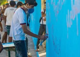 oficina graffiti 270x192 - Visita ao Engenho Corredor marca 2º dia da Semana José Lins em Pilar