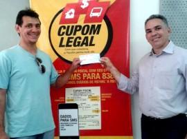 premiado Carlos Andrade Receita Estadual1 270x202 - Cupom Legal realiza 22 sorteios em junho e de R$ 10 mil nesta sexta-feira