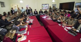 reunião monitoramento rafael vasconcelos. 270x141 - Paraíba mantém redução nos números de assassinatos