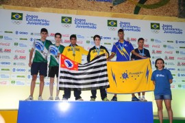 Jogos.CConvenções3 270x179 - Atletas dos Jogos Escolares recebem medalhas no Centro de Convenções