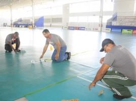 sejel chegada de atlesta e reuniao tecnica foto joao 17 270x202 - Centro de Convenções recebe montagem de quadras para os Jogos Escolares da Juventude