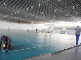 sejel chegada de atlesta e reuniao tecnica foto joao 25 270x202 - Centro de Convenções recebe montagem de quadras para os Jogos Escolares da Juventude
