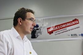 Ricardo Puppe Secretário Waldson de Souza  coletiva 270x180 - Governo do Estado realiza Dia D de mobilização contra dengue e chikungunya