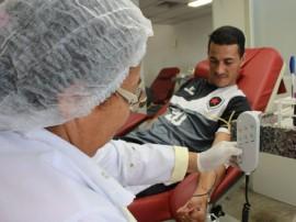 RicardoPuppe  Hemocentro Jogadores 270x202 - Elenco do Botafogo-PB participa de campanha de doação de sangue