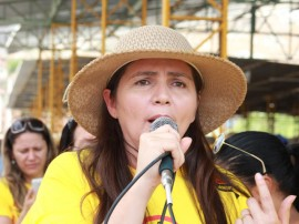 Secretária de Saúde de Aroeiras Maria Célia FOTO Ricardo Puppe 270x202 - Governo abre Dia D da Dengue no município de Aroeiras