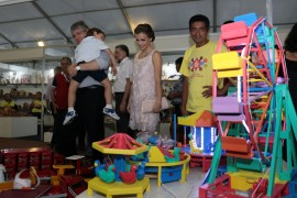 salao de artesanato 0008 270x180 - Em João Pessoa: Ricardo abre 21º Salão de Artesanato da Paraíba