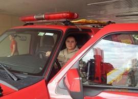 26.01.15 bombeiras 1 270x194 - Efetivo feminino ganha espaço no Corpo de Bombeiros Militar da Paraíba
