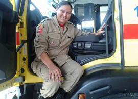 26.01.15 bombeiras 4 270x194 - Efetivo feminino ganha espaço no Corpo de Bombeiros Militar da Paraíba