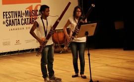 Alunos Tocando 01 270x166 - Músico americano elogia participação do Prima no Festival de Música de Santa Catarina