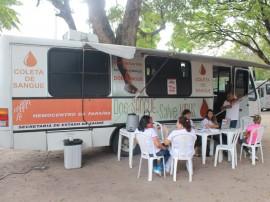 FOTO Ricardo Puppe Coleta de sangue Lagoa 270x202 - Hemocentro realiza primeira coleta externa do ano