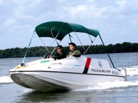 Pelotão Aquático Foto Wagner Varela 5 270x202 - Pelotão Aquático reduz crimes em áreas ribeirinhas e pontos turísticos