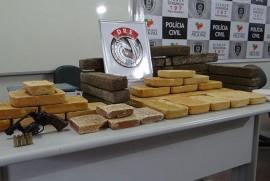 aprensao drogas 270x181 - Polícia apreende mais de duas toneladas de drogas em 2014 na Paraíba