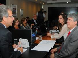 ricardo em brasilia com ministro da saude foto jose marques 2 270x202 - Ministro da Saúde garante liberação de recursos para conclusão do Hospital de Oncologia de Patos