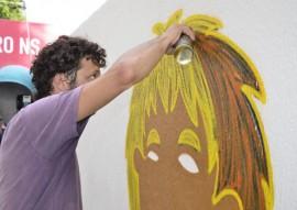 ses saude promove pela grafitagem alerta a populacao em locais publicos 1 270x191 - Governo do Estado abre campanha sobre a Lei Nacional Antifumo com grafitagem
