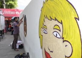 ses saude promove pela grafitagem alerta a populacao em locais publicos 22 270x191 - Governo do Estado abre campanha sobre a Lei Nacional Antifumo com grafitagem