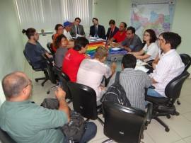LGBT e Jean Nunes reunião 03.02.2015 4 270x202 - Segurança e representantes de entidades LGBT discutem novas formas de tratamento nas delegacias