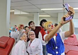 RicardoPuppe  Circo Hemocentro 2 270x191 - Hemocentro lança campanha para aumentar estoque de sangue durante período carnavalesco