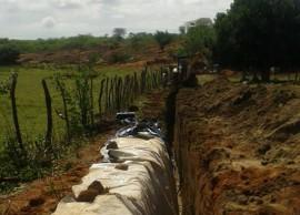 barragem princesa 2 270x194 - Agricultores fornecedores do Pnae constroem barragem subterrânea