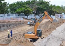 obras do viaduto de mangabeira foto vanivaldo ferreira 7 270x191 - Começa escavação da última alça do Trevo de Mangabeira