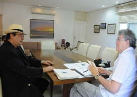 ricardo recebe representantes do tce foto jose marques 2 270x191 - Ricardo recebe visita do futuro presidente do TCE