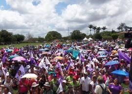 13.03.15 wseafds participa marcha pela vida mulheres 2 270x192 - Em Lagoa Seca: Marcha pela Vida das Mulheres e pela Agroecologia reúne 3 mil agricultoras