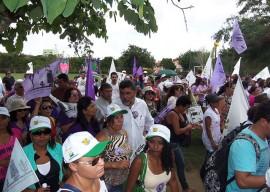 13.03.15 wseafds participa marcha pela vida mulheres 4 270x192 - Em Lagoa Seca: Marcha pela Vida das Mulheres e pela Agroecologia reúne 3 mil agricultoras