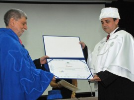 Entrega do Título de Doutor Honoris Causa a Celso Amorim 270x202 - Ricardo recebe ex-ministro da Defesa e das Relações Exteriores
