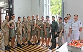 FOTO Ricardo Puppe Ações saude 1BPM 3 270x170 - Saúde e Polícia Militar lembram Dia Internacional da Mulher com atividades