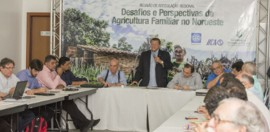 Lenildo em evento no Ceára 270x132 - Paraíba participa de encontro sobre desafios da agricultura familiar no Nordeste