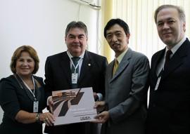 Nilda Gondim e Lindolfo Pires com o embaixador Shim Matoda do Japão 01  270x191 - Governo apresenta potencialidades da Paraíba na Embaixada do Japão