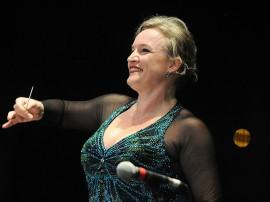 ligia amadio arquivo particular2 270x202 - Orquestra Sinfônica realiza concerto em homenagem às mulheres com maestrina Ligia Amadio