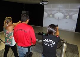 seds pc treinamento Simulador de Tiro 2 270x191 - Policiais fazem treinamento em simulador de tiro na Acadepol em João Pessoa
