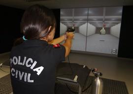 seds pc treinamento Simulador de Tiro 4 270x191 - Policiais fazem treinamento em simulador de tiro na Acadepol em João Pessoa