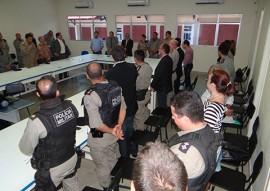 seds reuniao de gestores da seguranca no sertao 5 270x191 - Encontro reúne gestores da Segurança no Sertão e discute enfrentamento à violência