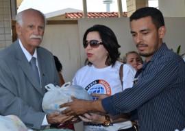 tabajara faz entrega de alimentos de jogo ao hosp padre ze foto joao francisco 4 270x191 - Futebol Solidário promovido pela Rádio Tabajara arrecada cinco toneladas de alimentos