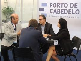 08.04.15 Porto Cabedelo participa Intermodal South America 270x202 - Governo divulga atrativos do Porto de Cabedelo durante evento internacional em São Paulo