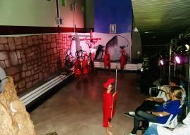13.04.15 paixao cristo encenada hospital trauma 1 270x192 - Pacientes do Hospital de Trauma assistem encenação da Paixão de Cristo