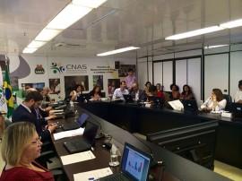 15.04.15 Reunião Cida Ramos Brasília 1 270x202 - Paraíba participa de reunião em Brasília sobre Assistência Social