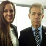 A-Secretária-de-Estado-da-Saúde-com-o-Ministro-Arthur-Chioro-durante-posse-em-Brasília