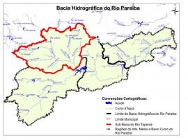 Bacia do rio Paraíba 270x202 - Governo do Estado discute projeto de revitalização do rio Paraíba nesta quarta-feira