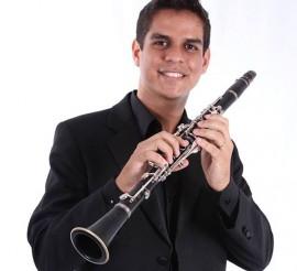 José Fernandes Neto Clarinete 270x246 - Orquestra Sinfônica Jovem faz concerto com peça inédita em João Pessoa e ritmos brasileiros
