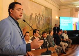 ORÇAMENTO DEMOCRATICO GILVANIDO PEREIRA 3 270x191 - Ricardo lança Ciclo 2015 do Orçamento Democrático Estadual