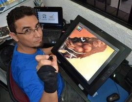 alzir alves 270x209 - Funesc inscreve para oficina de HQ e realiza mesa redonda sobre o mercado americano de quadrinhos